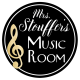 Melissa with Mrs. Stouffer's Music Room