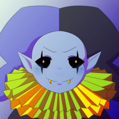 Jevil is the guy that sneezes with his eyes open lol – shoefaced-gemini