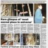 Lindisfarne Gospels + Mary Queen of Scots